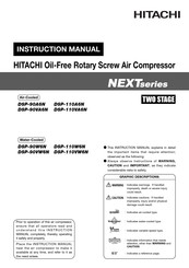 Hitachi DSP-110A6N Instruction Manual