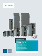 Siemens SINAMICS G120X Operating Instructions Manual