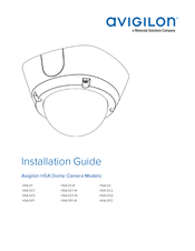 Motorola Avigilon H5A-D1-IR Installation Manual