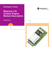 Motorola c18 Developer's Manual