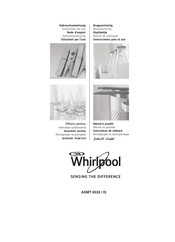 Whirlpool AXMT 6533 /IX Instructions For Use Manual