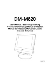 Epson DM-M820 User Manual