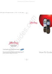 Samsung Jitterbug How-to Manual