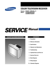 Samsung CS25M6HN8X/BWT Service Manual