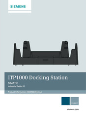 Siemens SIMATIC ITP1000 Manual