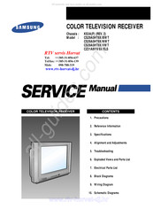 Samsung CS29A5HT8X/BWT Service Manual