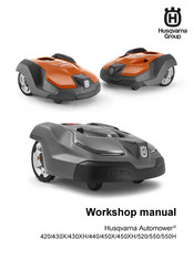 Husqvarna AUTOMOWER 550H Workshop Manual