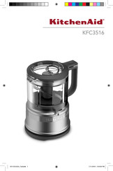 KitchenAid KFC3516 Use And Care Manual