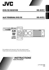 Jvc KD-AVX1 Manuals | ManualsLibManualsLib