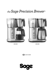 Sage Precision Brewer BDC450 Quick Manual