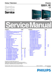 Philips 8000 Series Service Manual