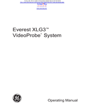 GE Everest XLG3 VideoProbe Operating Manual