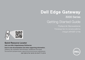Dell Edge 3000 Series Getting Started Manual