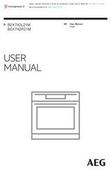 AEG BEK742L21M User Manual