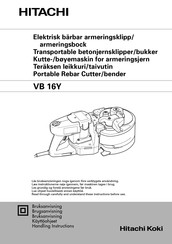 Hitachi VB 16Y Handling Instructions Manual