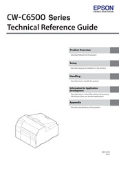 Epson ColorWorks C6520P Technical Reference Manual