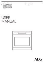AEG BES356010W User Manual