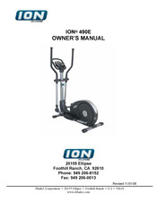 BLADEZ ION 490E Owner's Manual