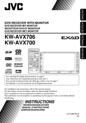 JVC EXAD KW-AVX700 Instructions Manual