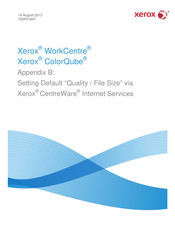 Xerox ColorQube 87 Series Manual