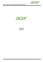 Acer Altos T350 F2 Faq