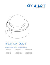 Motorola Avigilon H5SL Series Installation Manual