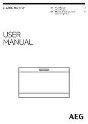 AEG AHB71821LW User Manual