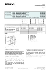 Siemens 5WG1 201-2DB12 Technical Product Information