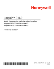 Honeywell Dolphin CT60-L1N-S1E Series Manual