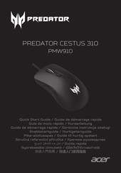 Acer PREDATOR CESTUS 330 PMW920 Quick Start Manual