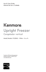 Kenmore 111.22062 Use & Care Manual