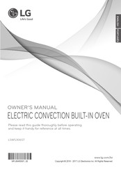 LG LSWS306ST Owner's Manual