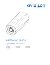 Motorola Avigilon 4.0C-H5A-B2 Installation Manual
