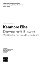 Kenmore 233.5996 Series Installation Manual