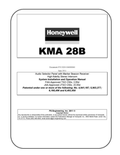 Honeywell KMA 28B System Installation And Operation Manual