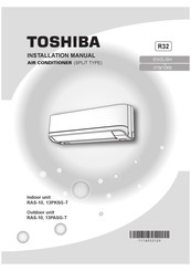 Toshiba 13P ASG -T Installation Manual