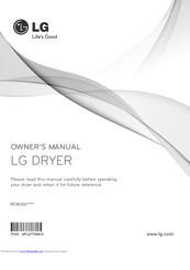LG RC8066 Series Owner's Manual