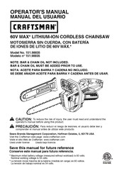 Craftsman 151.98835 Operator's Manual