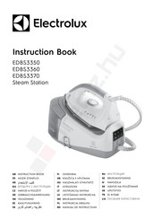 Electrolux EDBS3370 Instruction Book