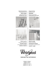 Whirlpool ACMK 6110/IX/3 Instructions For Use Manual