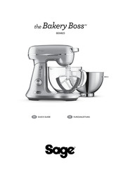 Sage Bakery Boss BEM825 Quick Manual