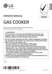 LG LF761S Owner's Manual