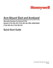 Honeywell CT40-WS-00 Quick Start Manual