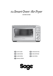 Sage Smart Oven BOV860 Quick Manual
