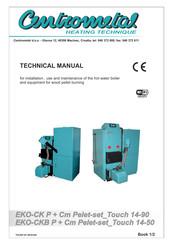 Centrometal Cm Pelet Set Touch 90 Manuals Manualslib