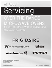 Frigidaire CGMV173KB Servicing