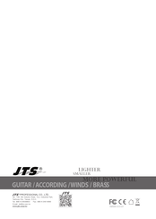 JTS RU-12 Instruction Manual
