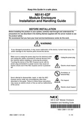 NEC N8141-62F Installation And Handling Manual