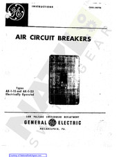 GE AK-1-15-9 Instructions Manual