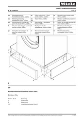Miele UG 4 Series Fitting Instructions Manual